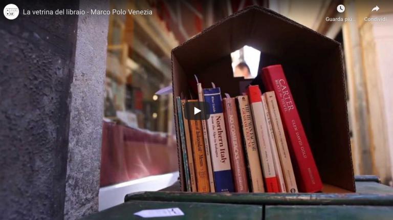 video aziendale per libreria marco polo venezia